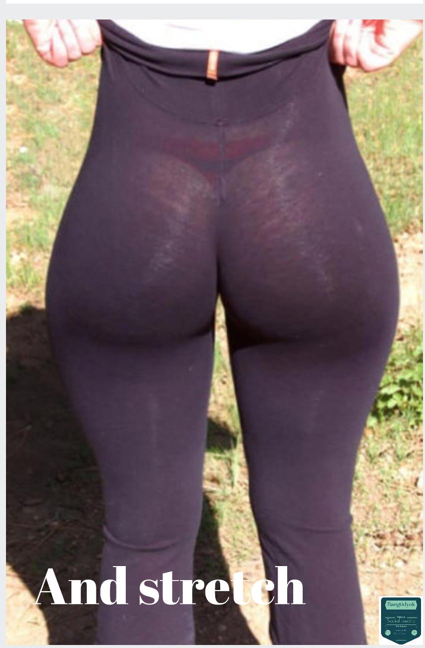Толстые жопы в обтягивающих штанах 26 фотография